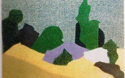 """Petit paysage """"Pour attendre 6 heures le soir"""""""