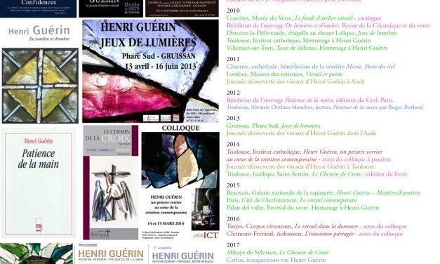 2009 – 2019 Les dix ans de l'Association Henri Guérin
