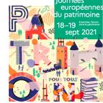 18 et 19 septembre  : Journées du Patrimoine 2021
